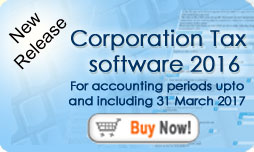 CT600 Corporation Tax Software 2016 accounting periods up to 31 March 2017