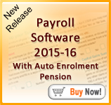 Payroll Software 2015-2016 With Auto Enrolment Pension